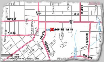 Maps Directions Yaquina Bay Properties Oregon Coast Vacation Rentals